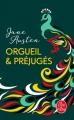 Couverture Orgueil et Préjugés Editions Le Livre de Poche 2019