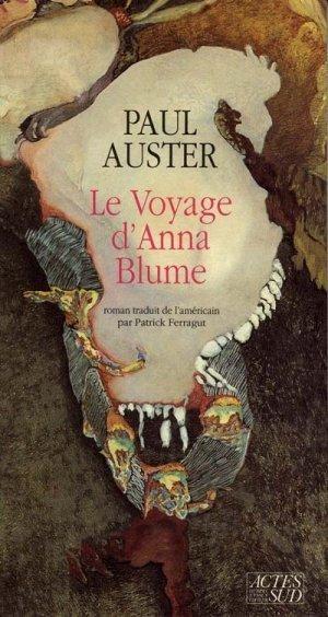 Couverture Le voyage d'Anna Blume / Au pays des choses dernières