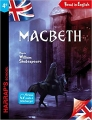 Couverture Macbeth, adapté Editions Harrap's (Yes you can !) 2016