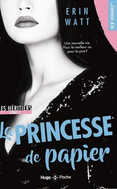 Couverture Les héritiers, tome 1 : La princesse de papier