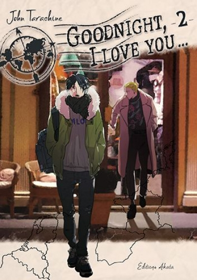 Couverture Goodnight, I love you..., tome 2