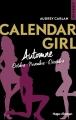 Couverture Calendar girl, triple, tome 4 Editions Hugo & cie (New romance) 2018