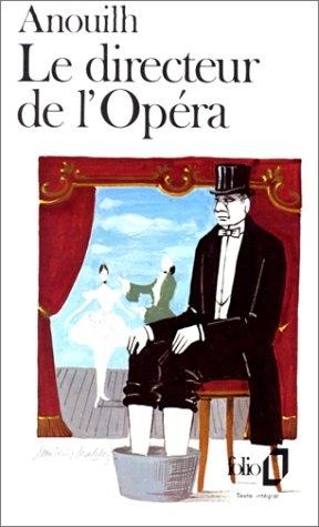 Couverture Le directeur de l'Opera