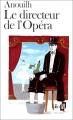 Couverture Le directeur de l'Opera Editions Folio  1978