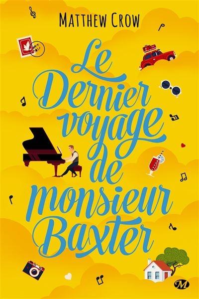Couverture Le Dernier Voyage de monsieur Baxter