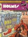 Couverture Sherlock Holmes (B.Détectives), tome 1 : La sangsue rouge Editions Lefrancq 1990