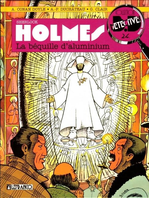 Couverture Sherlock Holmes (B.Détectives), tome 3 : La béquille d'aluminium