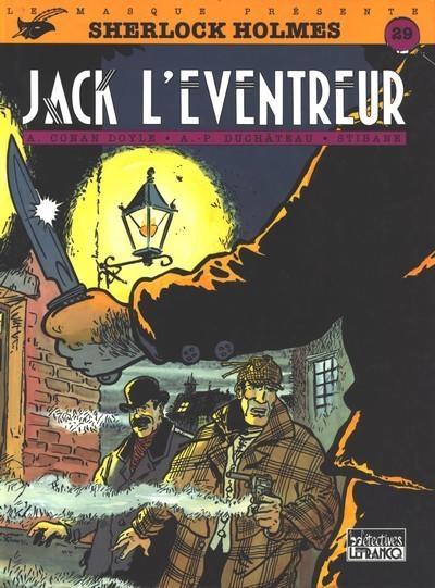 Couverture Sherlock Holmes (B.Détectives), tome 4 : Jack l'Éventreur
