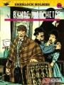 Couverture Sherlock Holmes (B.Détectives), tome 5 : La bande mouchetée Editions Lefrancq 1995