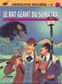 Couverture Sherlock Holmes (B.Détectives), tome 6 : Le rat géant du Sumatra Editions Lefrancq 1995