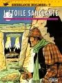 Couverture Sherlock Holmes (B.Détectives), tome 7 : L'étoile sanglante Editions Lefrancq 1997