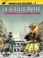 Couverture Sherlock Holmes (B.Détectives), tome 8 : La vieille Russe Editions Lefrancq 1997