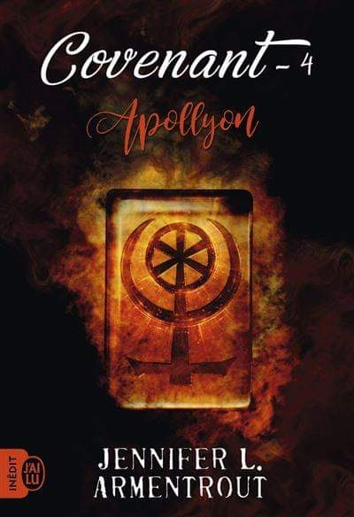 Couverture Covenant, tome 4 : Apollyon