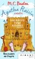 Couverture Agatha Raisin enquête, tome 06 : Vacances tous risques Editions France Loisirs (Piment - Noir) 2018