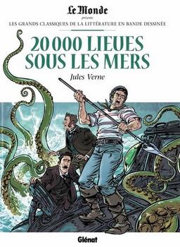 Couverture 20000 Lieues sous les Mers
