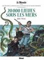 Couverture 20000 Lieues sous les Mers Editions Glénat 2018
