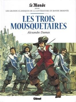 Couverture Les Trois Mousquetaires (BD)