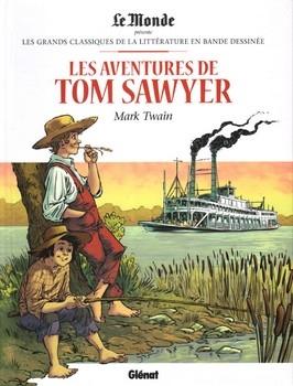 Couverture Les Aventures de Tom Sawyer (BD)