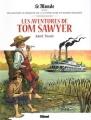 Couverture Les Aventures de Tom Sawyer (BD) Editions Glénat 2018