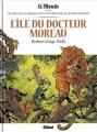 Couverture L'île du docteur Moreau (BD) Editions Glénat 2018