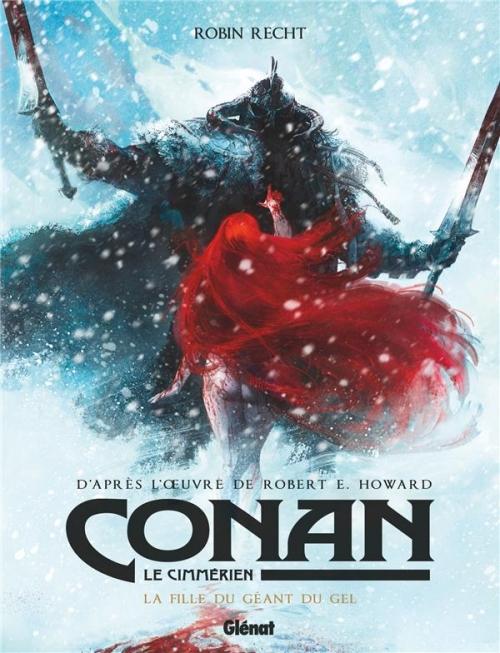 Couverture Conan le Cimmérien : La fille du géant du gel