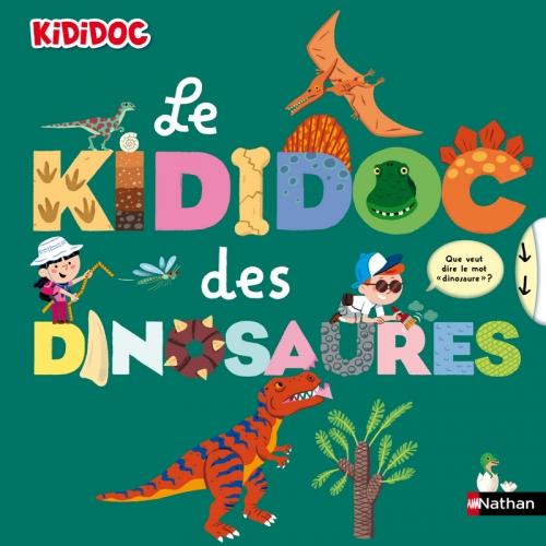Couverture Le Kididoc des dinosaures