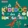 Couverture Le Kididoc des dinosaures Editions Nathan (Kididoc) 2018