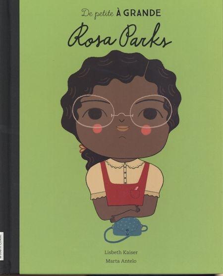 Couverture De petite à grande : Rosa Parks