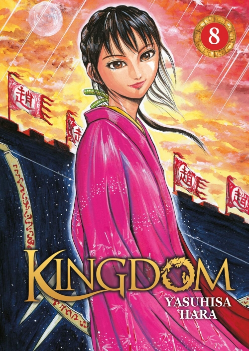 Couverture Kingdom, tome 08