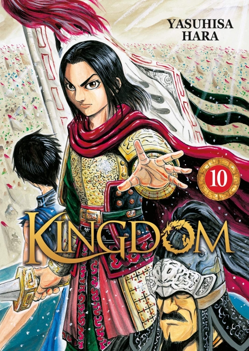 Couverture Kingdom, tome 10