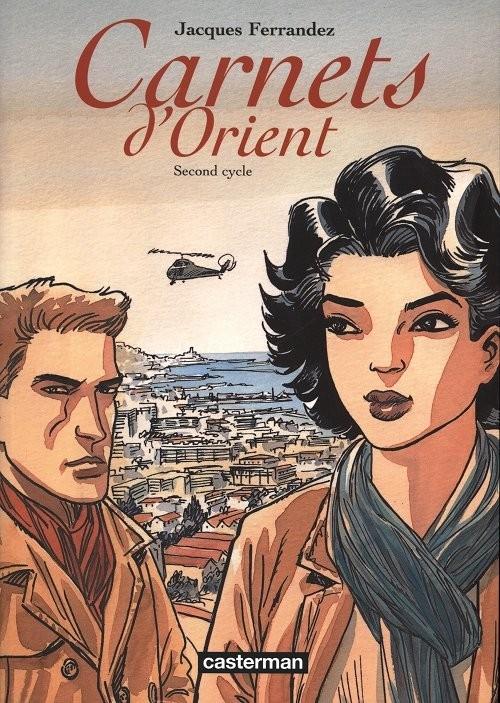 Couverture Carnets d'Orient, intégrale, tome 2 : Second cycle