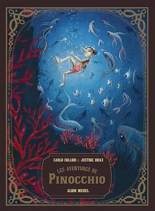 Couverture Les Aventures de Pinocchio