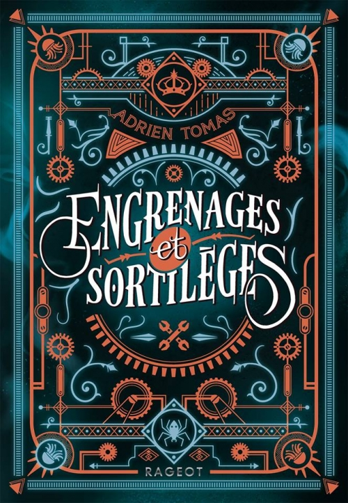 Couverture Engrenages et Sortilèges