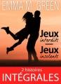 Couverture Jeux interdits, Jeux insolents, intégrale Editions Addictives (Adult romance - Suspence) 2018