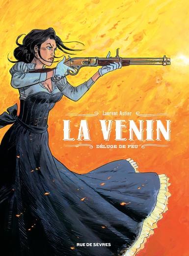 Couverture La Venin, tome 1 : Déluge de feu