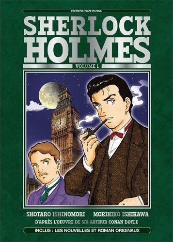 Couverture Sherlock Holmes (manga), tome 1