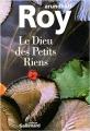 Couverture Le dieu des petits riens Editions Gallimard  1997