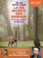 Couverture La vie secrète des animaux Editions Audiolib 2018