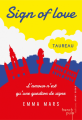 Couverture Sign of Love, tome 1 : Taureau Editions French pulp 2018