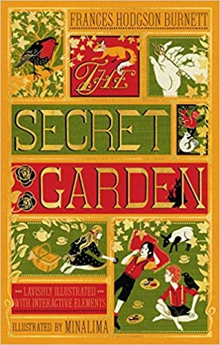 Couverture The Secret Garden, illustrated (MinaLima)