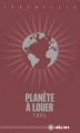 Couverture Planète à louer Editions Mnémos (Hélios) 2018