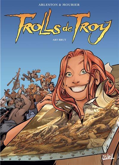 Couverture Trolls de Troy, tome 23 : Art brut