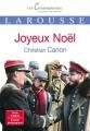 Couverture Joyeux Noël Editions Larousse (Les Contemporains, classiques de demain) 2016