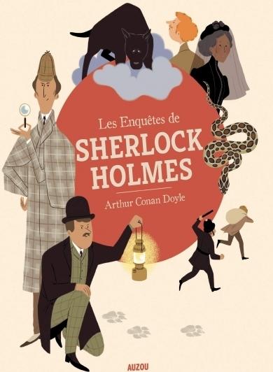 Couverture Les enquêtes de Sherlock Holmes