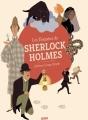 Couverture Les enquêtes de Sherlock Holmes Editions Auzou  2018