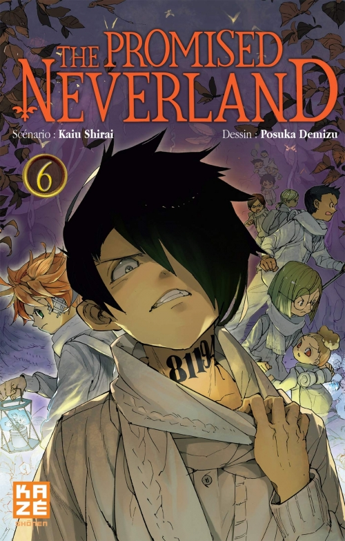 Couverture The Promised Neverland, tome 06