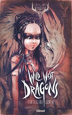 Couverture Black'Mor Chronicles (Glénat), tome 3 : Troisième cycle : Wild west dragons, partie 1 : Des Bermudes aux méandres du fleuve Amazone