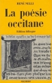 Couverture La poésie occitane Editions Seghers 1974