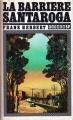 Couverture La barrière Santaroga Editions JC Lattès (Titres SF) 1979