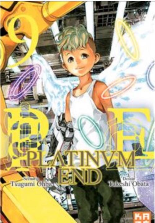 Couverture Platinum end, tome 09